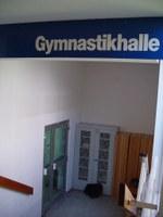 Eingang zum Dojo (Gymnastikhalle)