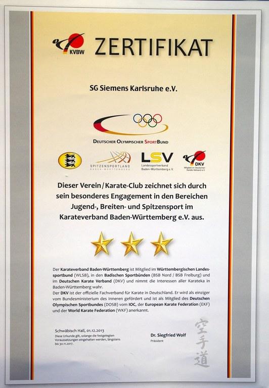 KVBW Zertifikat